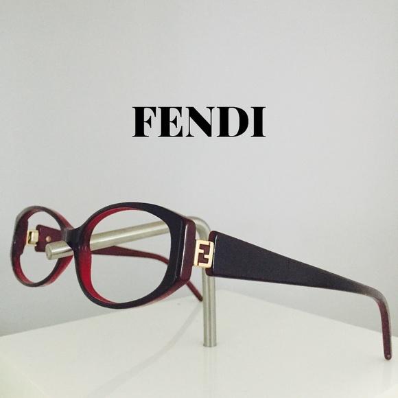 7f3b8d98f8 Fendi Accessories - Fendi Red Eyeglasses Sunglasses